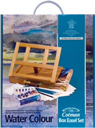 Cotman Tube Box Easel Set