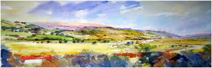 Hillary Carr Art in the Lune Valley Watercolour Courses for the Beginer