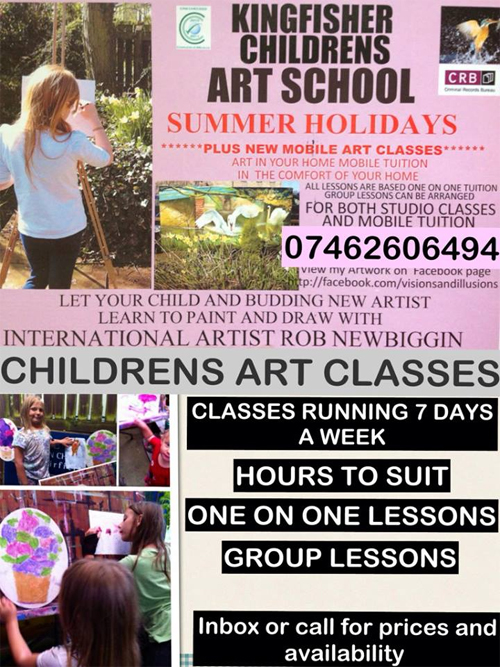 Ron Art courses Caton Lancashire