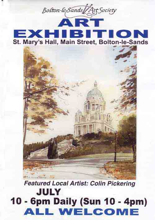 Bolton le Sands Art Exhibition