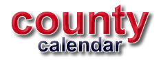 county calendar events listings