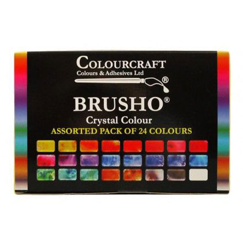 Brusho concentrated watercolour