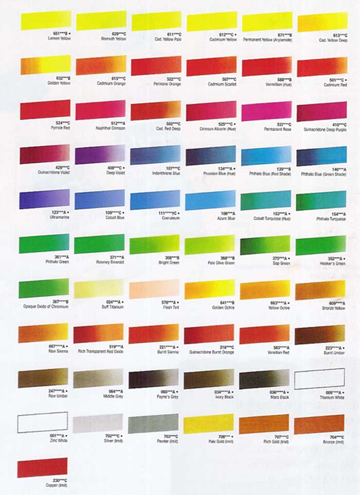 Acrylic Paint Mixing Chart - Best 25 color mixing chart ...