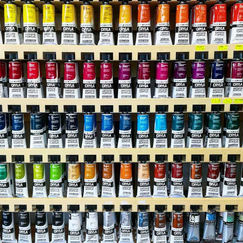 Cryla Artists Acrylic Colour  at online discounts