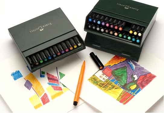 Brush Pens and Fine Liners at online Discount Prices faber castell