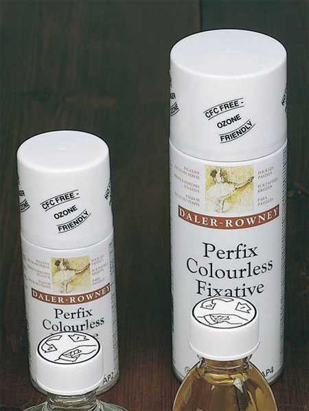 fixative spray for pastel, charcoal and chalks