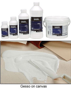 Gesso White Liquitex Surface Preparation 118 ml to 3.97 Litre