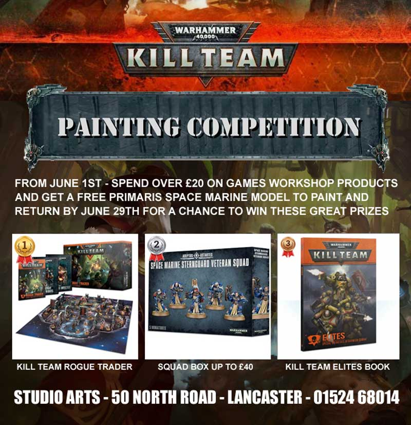 Warhammer Games Workshop painting competition