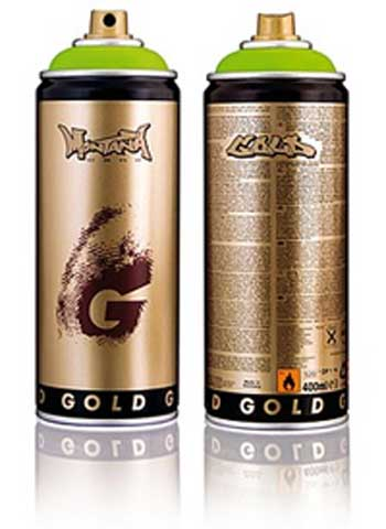 montana gold spray cans paint marker pens german. Black Bedroom Furniture Sets. Home Design Ideas