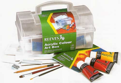 Reeves Acrylic Colour Tube Sets