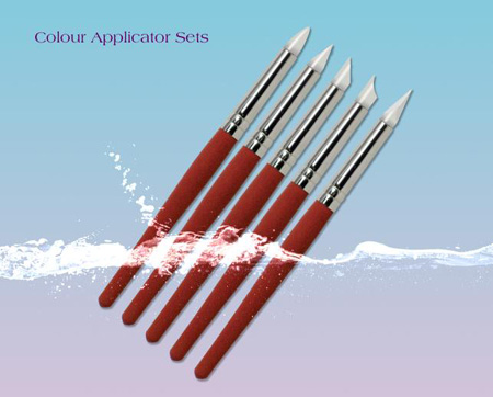 Colour Applicator Set of 5 size 4 ProArte