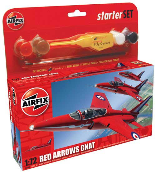 Red Arrows Gnat Starter Set (A50080 A55105)