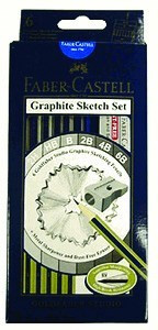 Graphite Sketch set Faber Castell