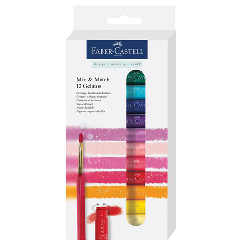 Gelatos Faber Castell Mix and Match box of 12