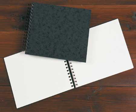 Daler Rowney A5 Hardback Spiral Portrait Sketch Book White