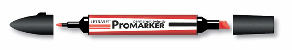 ProMarker letraset twin tip