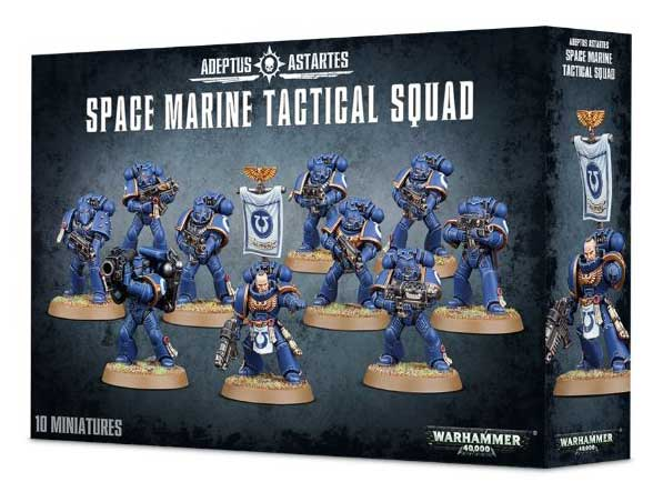 Space Marine Tactical Squad Games Workshop Warhammer