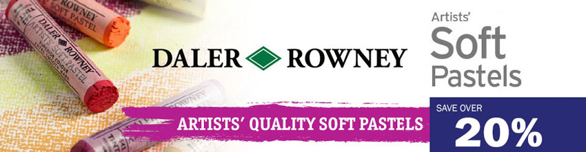 Daler Rowney Pastel promotion 20% discount online art craft and graphic  materials from studio arts