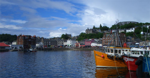 Oban Harbour Scotland 2013