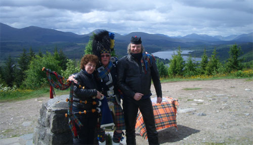 Glengarry Piper Scotland 2013
