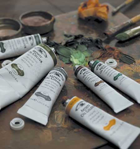artist professional oil paint winsor and newton